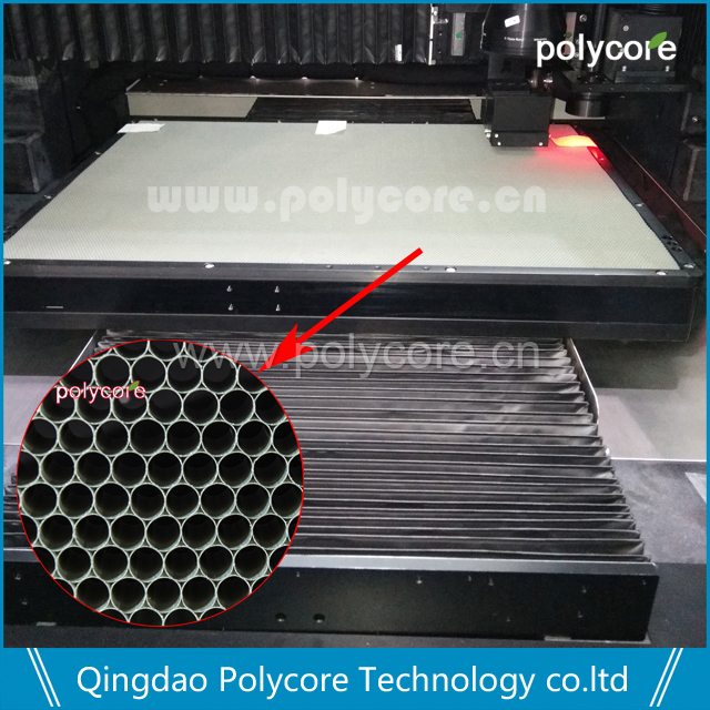 PC honeycomb sheet as honeycomb plate for Laser Cutting Machine
