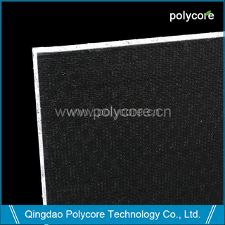 Light weight stiffness strength waterproof non-slip long life scaffolding honeycomb sandwich panel